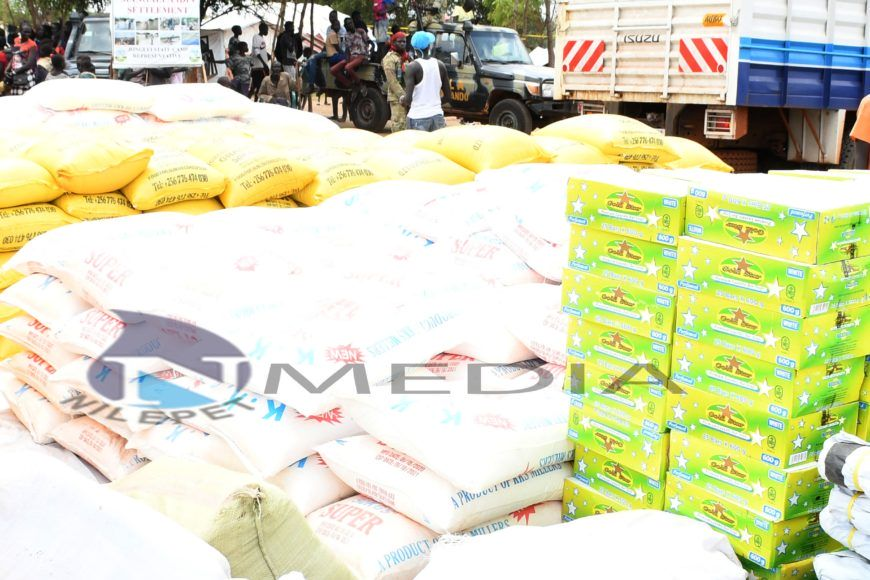 ENG. BOL RING DONATED FOOD AND NON-FOOD ITEMS TO DISPLACED COMMUNITIES IN MANGALLA